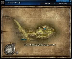 ヴァンピールの屋敷-map
