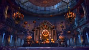 魔女の城パーティー会場入り口