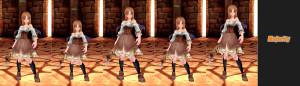 ハイポリモデル 体型 標準 少女 グラマー 小柄 スリム
