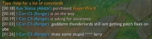 Thunderlordsちゅよい