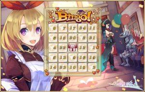 2016ゴールデンウィーク Bingoカード01