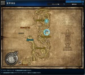 悲鳴の湿地クリチュラ-map