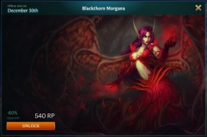 Blackthorn Morgana